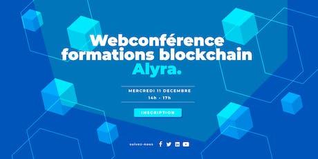 Webconférence - formations développeur et chef de projet blockchain billets