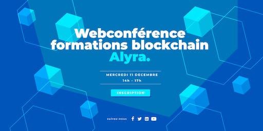 Webconférence - formations développeur et chef de projet blockchain