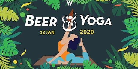 Beer&Yoga at Whitehart Bar tickets
