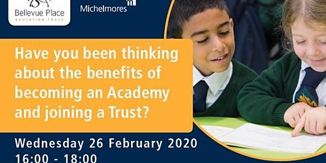 Thinking about the benefits of becoming an Academy and joining a Trust? tickets