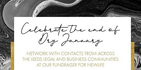 End of Dry January Party! Networking Fundraiser for Newlife (London 2020 Marathon Bid) tickets