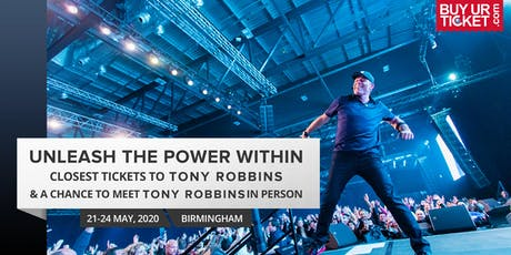 Tony Robbins UPW 2020 UK | Buy Solitaire Tickets & Get Premium Experience tickets