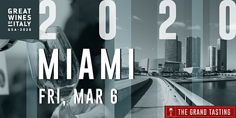 Great Wines of Italy 2020: Miami Grand Tasting tickets