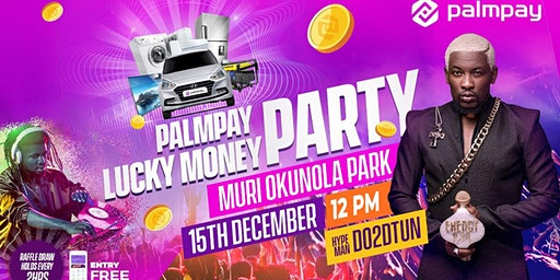PalmPay Lucky Money Party