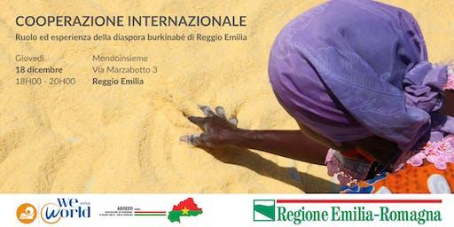 Ruolo ed esperienza della diaspora burkinabè di Reggio Emilia