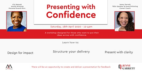 Presenting With Confidence tickets