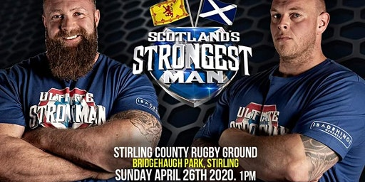 UKSA SCOTLAND'S STRONGEST MAN 2020