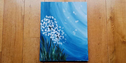 Paint by Wine - Dandelions