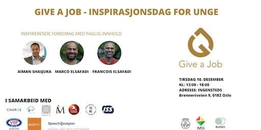 Give a Job Inspirasjonsdag for unge