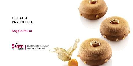 Ode alla pasticceria: a tu per tu con il MOF Angelo Musa biglietti