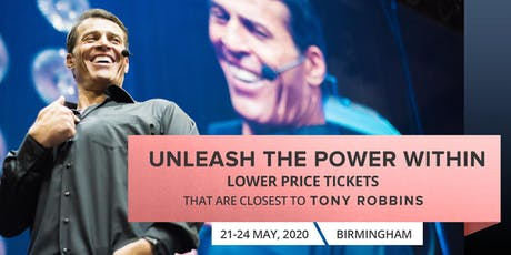 Tony Robbins Live - UPW Birmingham 2020 | Buy VIP ticket which selling fast tickets
