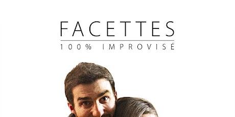 Facettes - La pièce 100 % improvisée par la compagnie Brassaï & Fines herbe billets