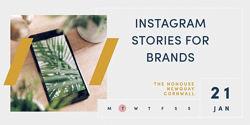 INSTAGRAM STORIES FOR BRANDS | The HoHouse | Newquay