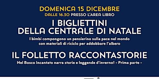 I BIGLIETTINI DELLA CENTRALE DI NATALE @NUOVETERRE,VIVI IL TERRITORIO!