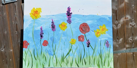 Paint by Wine - Wildflowers tickets