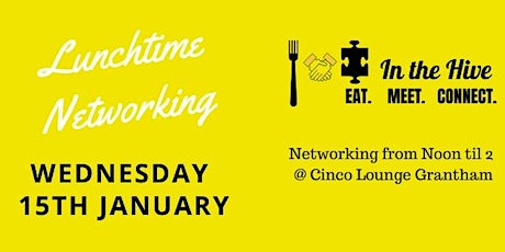 In the Hive Networking - Wednesday 15th January 2020 tickets