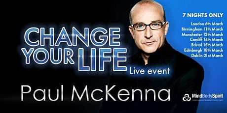 Change Your Life (London) - Paul McKenna tickets
