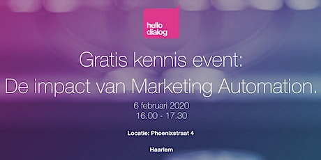 Marketing Automation Stategie Sessie tickets