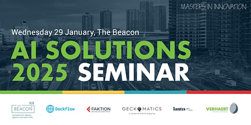 Seminar  'AI SOLUTIONS 2025: logistics & mobility for smart cities'