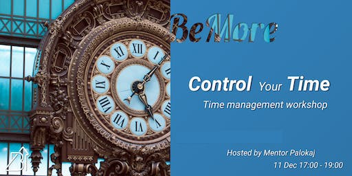 Think. Plan. Do. | Time management workshop