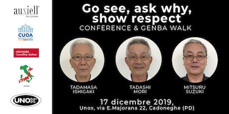 Toyota Old Boys Conference, Unox biglietti