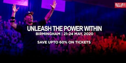 Tony Robbins Unleash the Power Within - Birmingham | 21-24 May, 2020
