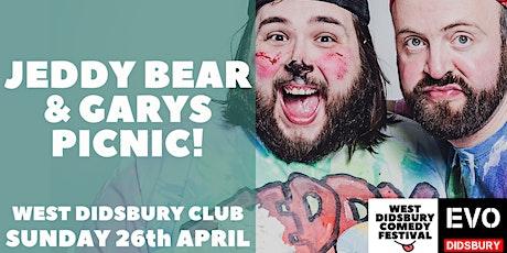 Jeddy Bear & Gary's Picnic! tickets