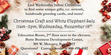 Christmas Craft & White Elephant Sale, 2nd Fl. Education Rm 305 W. Mercury tickets