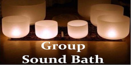 Group Sound Bath (With Healing Crystals) tickets
