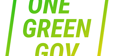 #OneGreenGov tickets