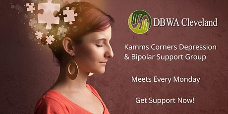 Depression And Bipolar  Support Group (Kamms Corners) tickets