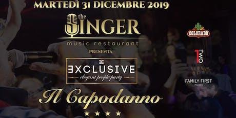 31 Dicembre | CAPODANNO | THE SINGER | Milano | info 3289156422 biglietti