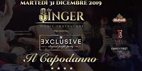 31 Dicembre   CAPODANNO   THE SINGER   Milano   info 3289156422 biglietti