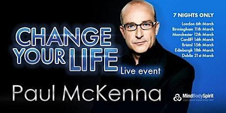 Change Your Life (Manchester) - Paul McKenna tickets