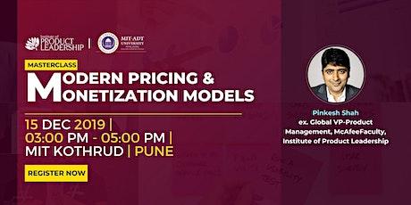 Masterclass: Modern Pricing & Monetization Models tickets