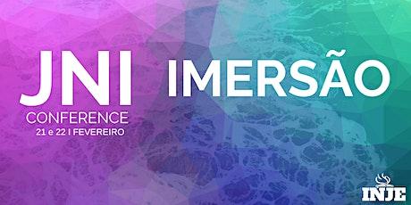 JNI CONFERENCE 2020 - IMERSÃO - 21 E 22/02 ingressos