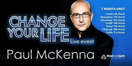 Change Your Life (Cardiff) - Paul McKenna tickets