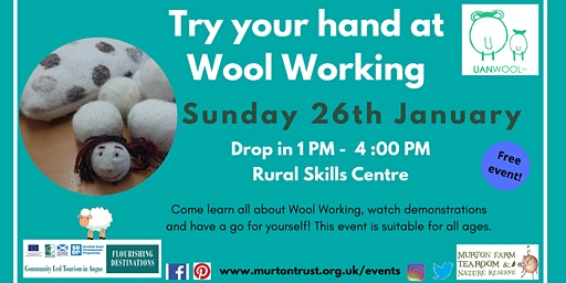 Try Your Hand At Wool Working