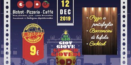 Giovedì GODO | Waiting for Christmas biglietti