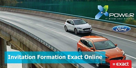 Invitation - formation en class Exact Online - Xpower tickets