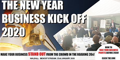 The New Year Business Kick Off 2020 tickets
