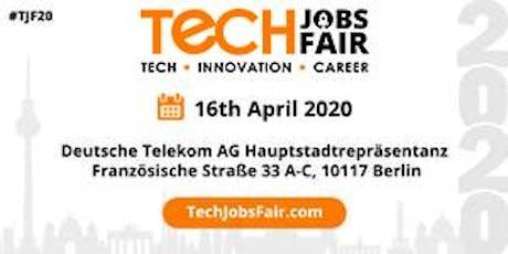 Tech Jobs Fair Berlin - 2020 Tickets
