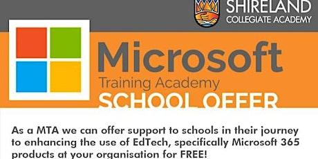 FREE Microsoft Training Academies (MTA) event @ Shireland Collegiate Academy tickets