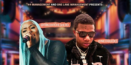 NEEK BUCKS & ROCKY (FAKEBITCHESHERO) LIVE tickets