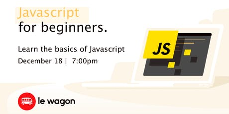 Javascripts for Beginners tickets