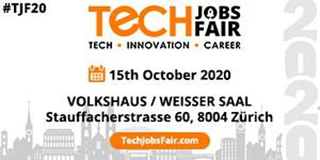 Tech Jobs Fair Zurich - 2020 tickets