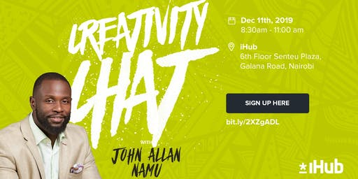 Creativity Chat with John Allan Namu