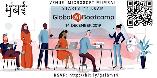 Global AI Bootcamp 2019 - Mumbai