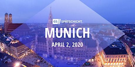Gründerszene Spätschicht Munich - 02.04.2020 tickets