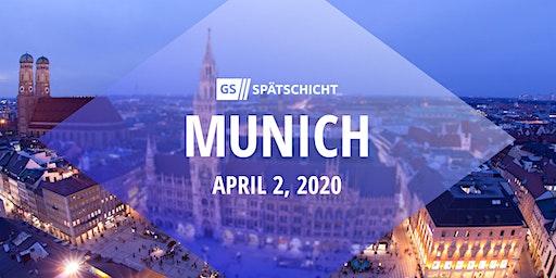 Gründerszene Spätschicht Munich - 02.04.2020